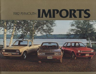 1982 Plymouth Champ Sapporo and Arrow Truck Sales Brochure