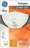 GE Lighting 16774 40-Watt Halogen Faceted G25