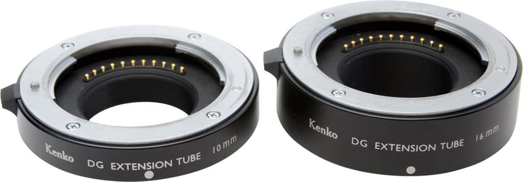 and 36mm Tubes for Canon EOS AF Mount Kenko Auto Extension Tube Set DG 12mm 20mm