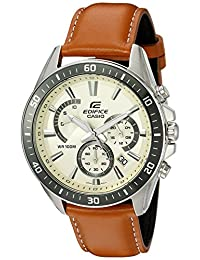 Casio Men's EFR-552L-7AVCF Edifice Analog Display Quartz Brown Watch