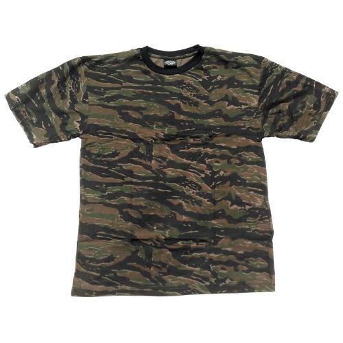 Mil-Tec T-shirt Tiger Stripe size (Tiger Stripe Camo T-shirt)