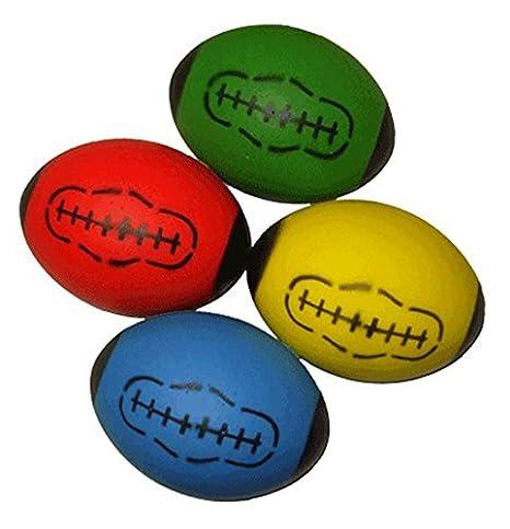 Balles de rugby en mousse souple pour enfant Green Chelston