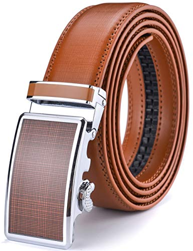 XDeer Men's Leather Ratchet Dress Belts with Automatic, used for sale  Delivered anywhere in Canada