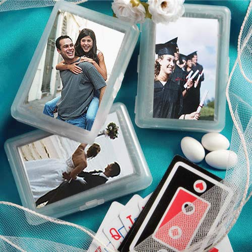 Playing Cards with Personalized Label (Cards Personalized Wedding Playing Favors)