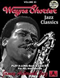 Wayne Shorter: Jazz Classics, Vol. 33 (Play-a-Long) (Book & CD) (Jazz Play-A-Long for All Instrumentalists)