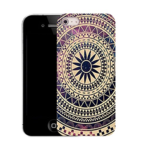 Mobile Case Mate IPhone 4 clip on Silicone Coque couverture case cover Pare-chocs + STYLET - distinction pattern (SILICON)