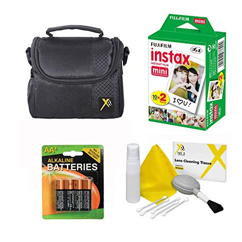 Starter Kit for Fuji instax mini 8, 9 Camera 20 Prints Film + Case + Accessories