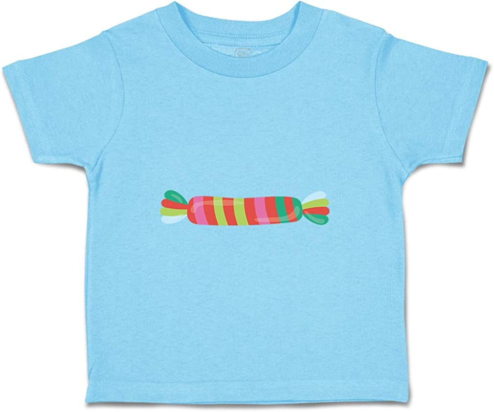 Custom Baby /& Toddler T-Shirt Rainbow Candy Cotton Boy Girl Clothes