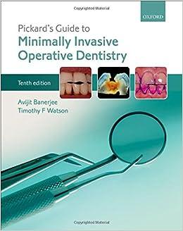 Pickards Manual of Operative Dentistry