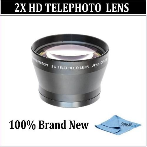 2x Telephoto Lens for the Nikon D3000 D5000 D5100 Digital Sl