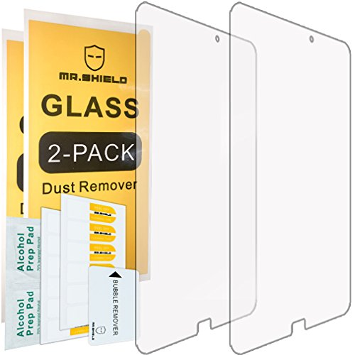 2-PACK-Mr-Shield-For-Samsung-Galaxy-Tab-E-96-Inch-Tempered-Glass-Screen-Protector-03mm-Ultra-Thin-9H-Hardness-25D-Round-Edge-with-Lifetime-Replacement-Warranty