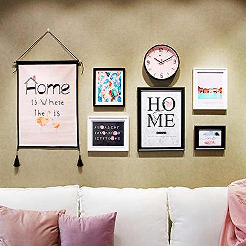 XK.DARLY Wall Home Decor DIY Creative Rectangle Photo Frame DIY Hanging Paper Photo Frames set photo collection for Living room Bedroom by XK.DARLY