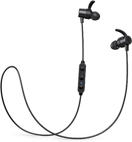 TaoTronics Cuffie senza fili Bluetooth 5.0 aptX HD Audio CVC 8.0 riduzione del rumore IPX6 impermeabile 16 ore tempo di riproduzione 3 impostazioni