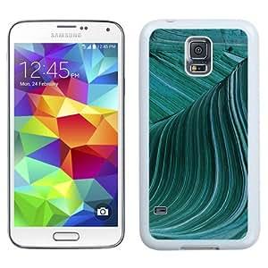 Fashionable Custom Designed Samsung Galaxy S5 I9600 G900a G900v G900p G900t G900w Phone Case With Swirly Wave Electron Microscope Imagery_White Phone Case