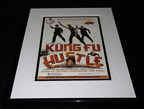 Kung Fu Hustle 2005 Framed 11x14 ORIGINAL Vintage Advertisement Stephen Chow