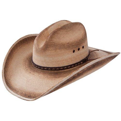 Resistol Jason Aldean Georgia Boy - Mexican Palm Straw Cowboy Hat (X-Large) (Kid Resistol Cowboy Hat)