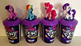 #7: My Little Pony Movie Exclusive Theater Cup Topper Set With 12 oz Cups