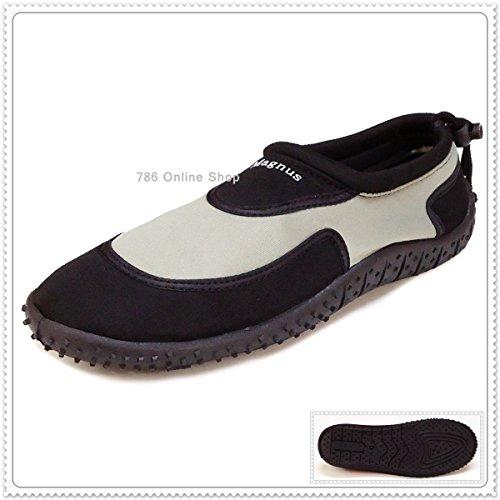 Badelatschen Herren Pantoffel Neu Schuhe Pantoletten Grau 172C Damen Badeschuhe Hausschuhe Clogs BCHOq
