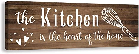 Amazon Com Elegant Signs Farmhouse Kitchen Decoration Signage Antique Farmhouse Wall Decoration Plaque Home Kitchen Pantry Decoration Mural 5 5 X 16 Inch Kitchen D Home Kitchen