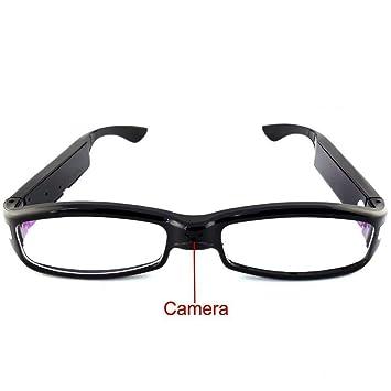 Electro-Weideworld - 1080P HD Cámara Espía Gafas Oculta Gafas de Cámara Mini DV Videocámara Detección de Movimiento Grabadora de Audio: Amazon.es: Bricolaje ...