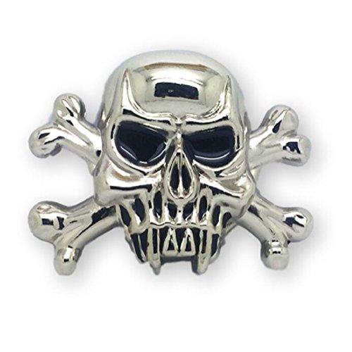 KeCol Adults Apes Skull Cross Bones Skeleton Devil Belt Buckle Silver