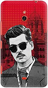 DailyObjects Khambata Poster Case For Nokia Lumia 1320