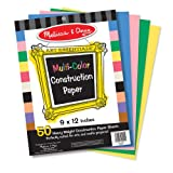 Melissa & Doug Multi-Colour Construction Paper