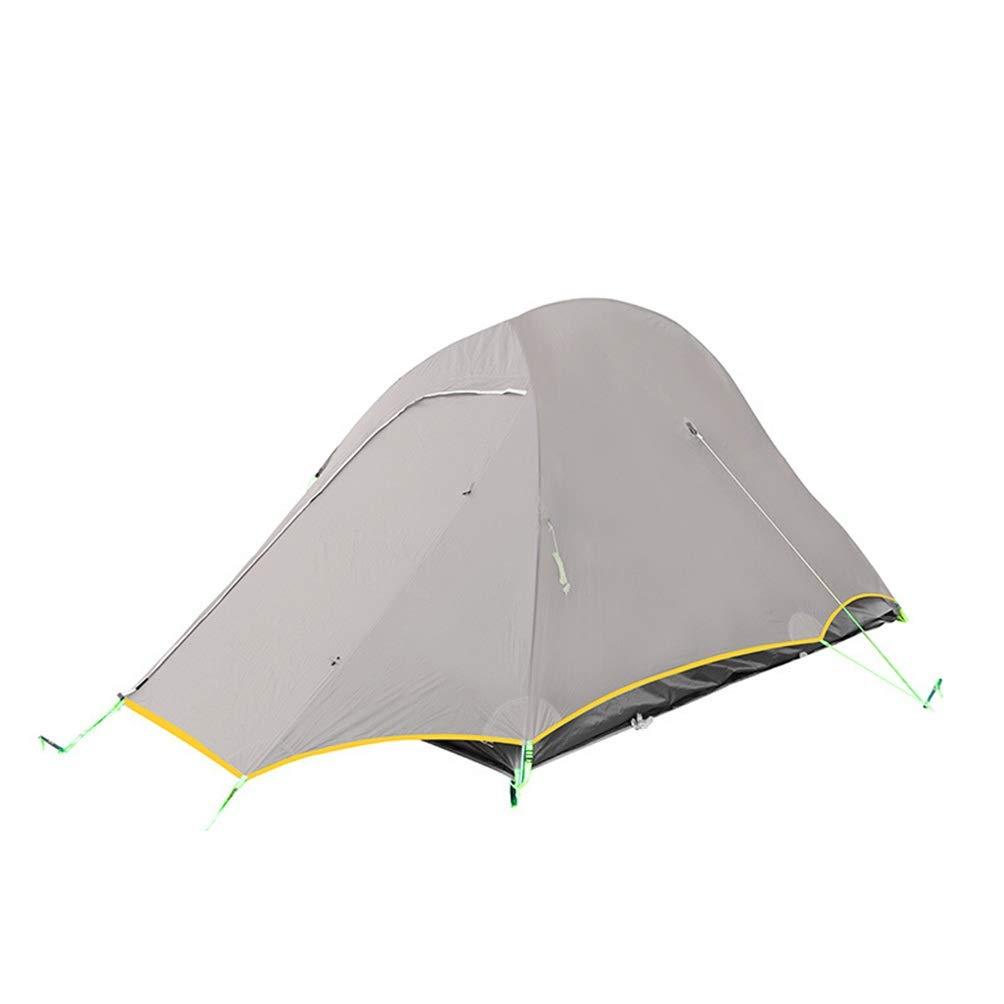 DONGXIN Jiansheng Bergsteigen Camping Camping Ultraleicht doppelt doppelt Zelt Anti-Sturm DREI Jahreszeiten halb gelb weiß grün rot 20D Doppel Silikon DREI Jahreszeiten