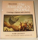 The American People Vol. 2 : Creating a Nation and a Society, Nash, Gary B., 0065002636