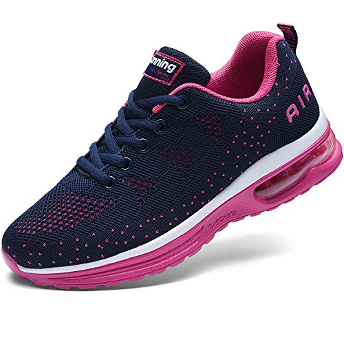 MAGPER Women Air Running Sneakers Lightweight Walking Athletic Gym Sports Shoes (US 5.5-10 B(M))
