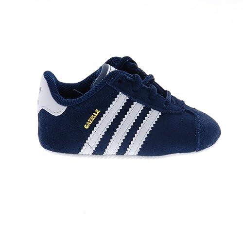 Zapatillas Deportivas Gazelle Crib bebé Adidas Azul Marino: Amazon.es: Zapatos y complementos
