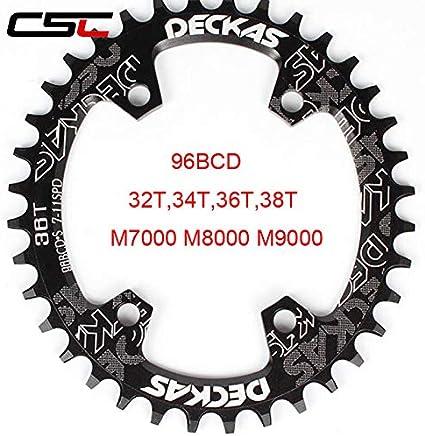 Stock Crankset Bike Crown Chain Bike Ultralight Round Oval 32 34 36 teeth