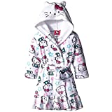 Hello Kitty Little Girls' Hooded Velvet Fleece Robe