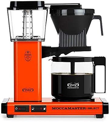 Moccamaster KBG Select - Cafetera de filtro (1,25 L, 1520 W ...