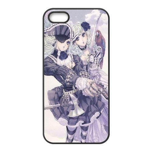 Pirate Girls 3 coque iPhone 5 5S Housse téléphone Noir de couverture de cas coque EEEXLKNBC18110