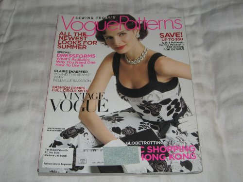 vogue-patterns-june-july-2006-summer-fashions-bellville-sassoon-vintage-vogue-dkny
