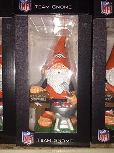 Denver Broncos Garden Gnome - Barbecue