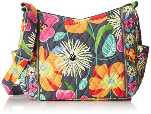 Vera Bradley On the Go Cross Body Jazzy Blooms