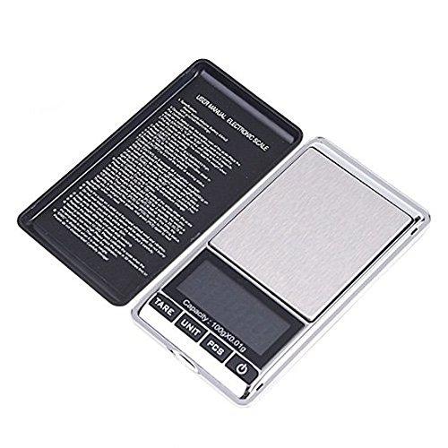 SODIAL(R) Mini Bascula Digital Portatil LCD 100g x 0.01g: Amazon.es: Hogar