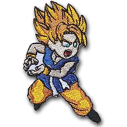 Goku Dragon Ball Dragonball Z Dokkan Super Saiyan Son Battle Superhero Super Hero Movie Cartoon Comics Logo Patch Sew Iron on Patch Badge Embroidery