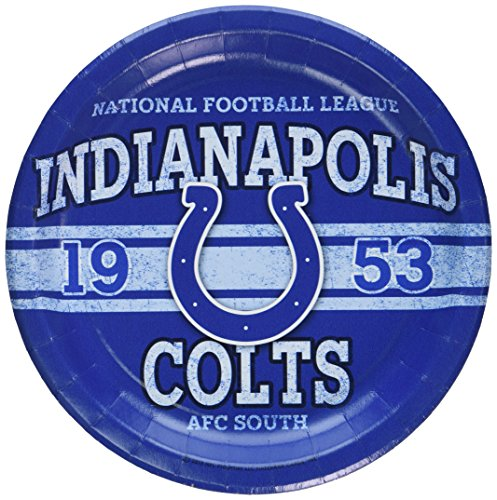 NFL Indianapolis Colts Dinner Plates (8)