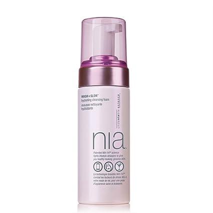 Espuma de limpieza hidratante Nia Wash and Glow, 150 ml