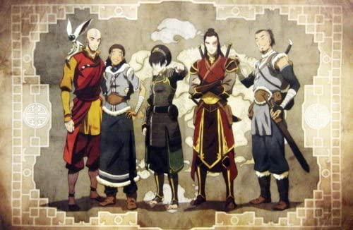 Avatar The Last Airbender Poster 24 x 36