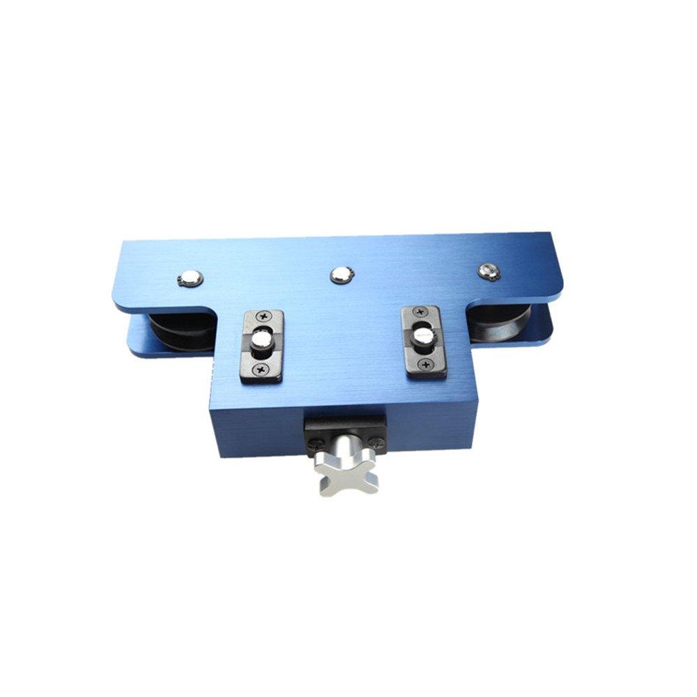 AdlerSpeed Metal Coiled Brake & Fuel Line Tubing Tube Straight Straightener Aluminum Blue - US Shipping by AdlerSpeed (Image #2)