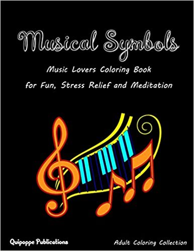 Amazon com: Musical Symbols: Music Lovers Coloring Book for Fun