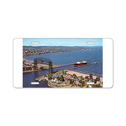 (CafePress - Duluth Harbor - Aluminum License Plate, Front License Plate, Vanity Tag)
