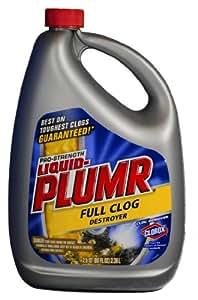 Liquid-Plumr 00228 Professional Strength Drain Opener, 80 fl oz Bottle
