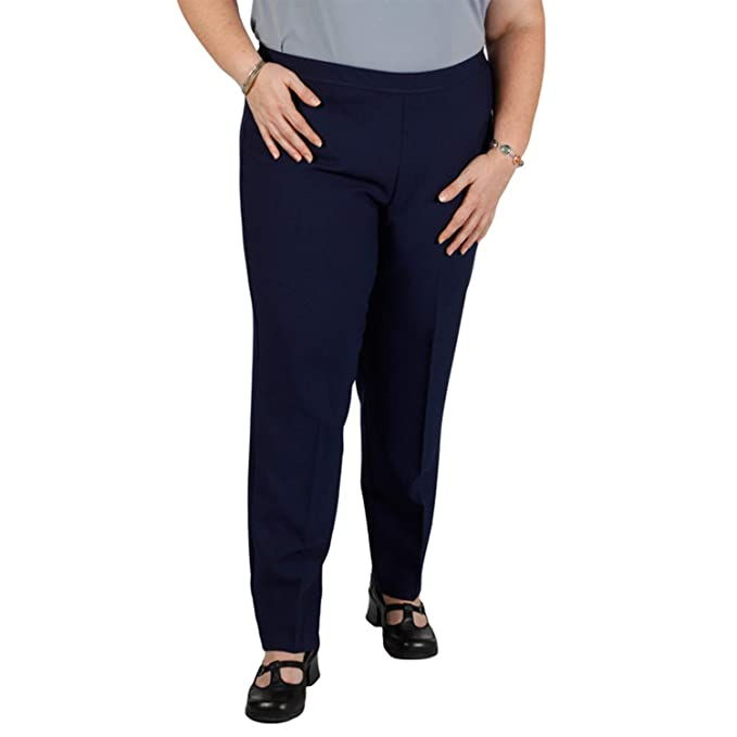 Bend Over Women\'s Plus Size Elastic Waist Pull-On Pants