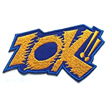 ZOK!! Patch 3 Inches Embroidered Iron / Sew on Badge Applique Motif Sock! Bam! - Free Shipping!