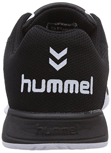 Neu Hummel Schwarz Play Sportschuh Schuhe Laufschuh schwarz Halle Sneaker Root pSgxwqp1